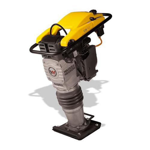 Bailarinas Compactadoras Wacker 80 kg DS70 Diesel