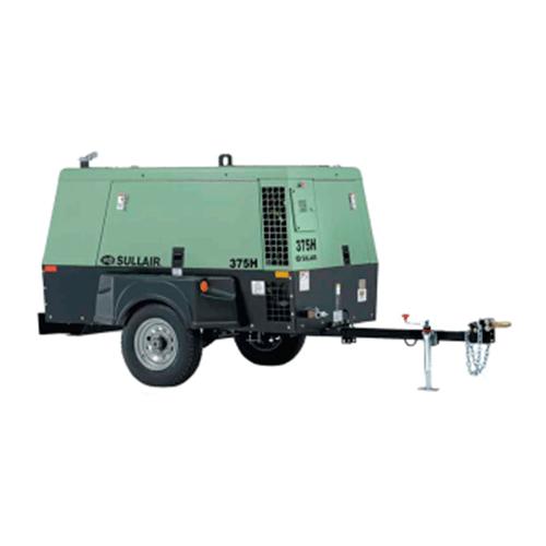 Compresores de aire portátiles de Tornillo rotatorio Sullair 375