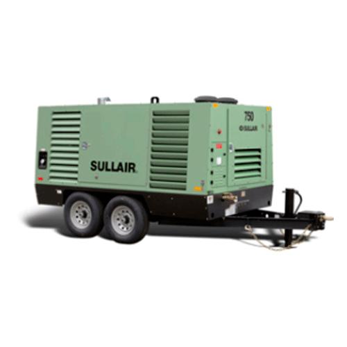 Compresores de aire portátiles de Tornillo rotatorio Sullair 750