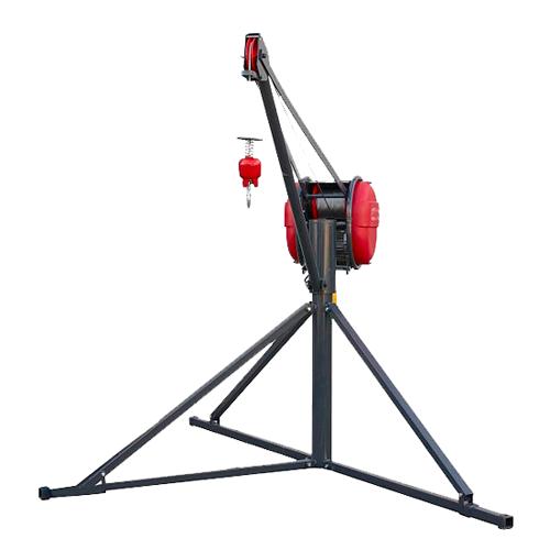 Malacates-Elécricos-Polipastos-Tipo-Pluma-300Kg-60Mtr