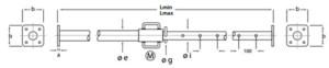 Puntales metálicos Pies Derechos EMAQ Serie P400