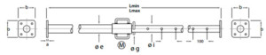 Puntales metálicos Pies Derechos EMAQ Serie P500-1