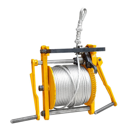 Malacates para Hamacas con 100 metros de Cable